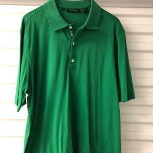 Bobby Jones Solid Green Polo. Like new!